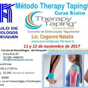 Curso METODO THERAPY TAPING