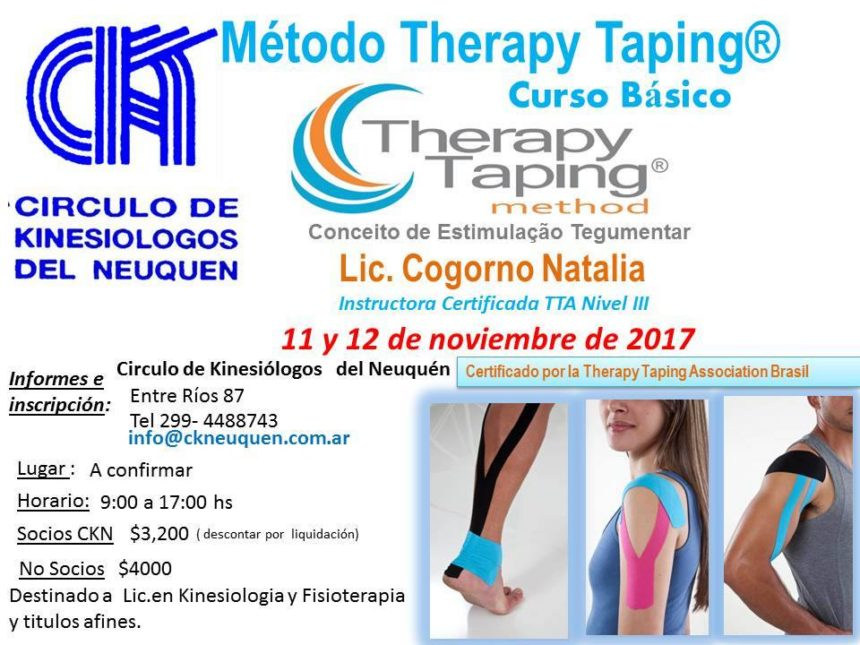 Curso METODO THERAPY TAPING