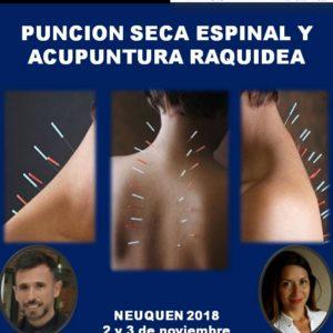 Punción Seca Espinal y Acupuntura Raquídea
