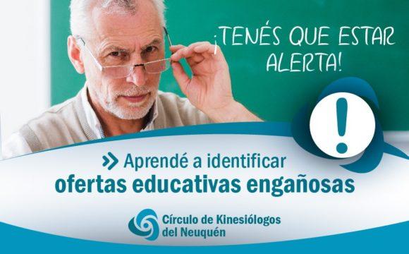 APRENDÉ A IDENTIFICAR OFERTAS EDUCATIVAS ENGAÑOSAS