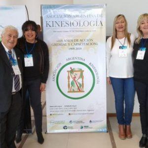 PARTICIPAMOS DEL CONGRESO ARGENTINO DE KINESIOLOGÍA EN MENDOZA