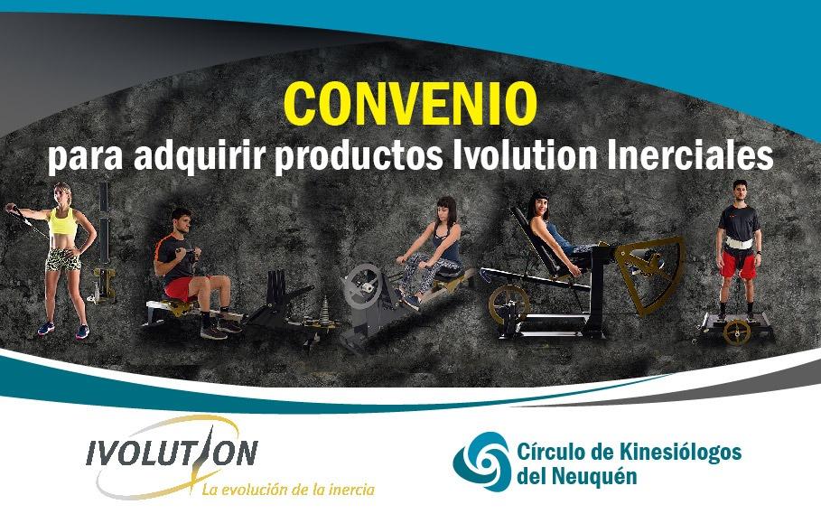 CONVENIO PARA ADQUIRIR PRODUCTOS IVOLUTION INERCIALES